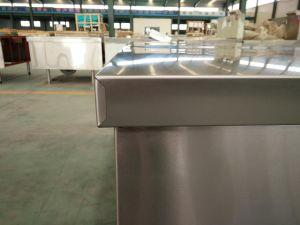 Upturn Enclosed Work Table Stainless pictures & photos