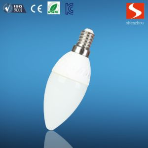 Ceramic 3W LED Candle Bulb Light pictures & photos