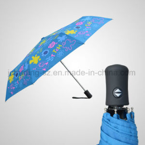 3 Fold Automatic Open&Close Umbrella Fashion Rain/Sun Umbrella (JF-ADS301) pictures & photos