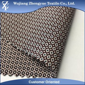 Polyester Rayon Spandex Yarn Dyed Dobby Super Elastic Garment Fabric pictures & photos