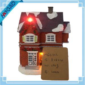 Fiber Optic Christmas Shop Village House Building Decoration Light Gift pictures & photos