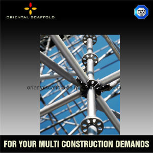 Steel Ringlock Scaffolding for Working Platform pictures & photos