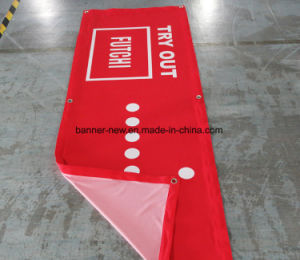 Full Color Polyester Fabric Banner (SS-SF102) pictures & photos
