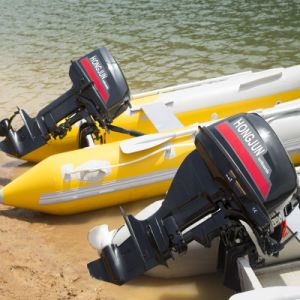 Gasoline Diesel Outboard Motor2 Stroke 60HP pictures & photos