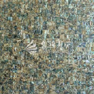 Abalone Shell Paua Shell Yellow Mosaic Tile pictures & photos