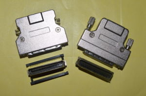 SCSI Solder Connector+ Metal Cover pictures & photos