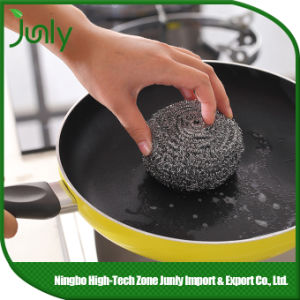 spiral Scourer Kitchen Cleaning Tools Stainless Steel Scourer pictures & photos