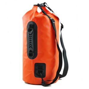 Side Handle Camping Hiking Waterproof Dry Bag with Strap pictures & photos