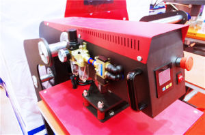 Two Stations Pneumatic Heat Transfer Machine pictures & photos