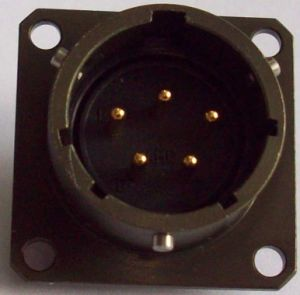 Ms3112e14-5p Bayonet Coupling Panel Receptacle pictures & photos