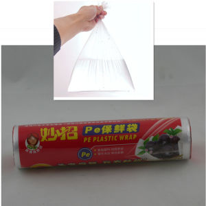 Wholesale High Quality Low Density PE Food Package Polyethylene Bags pictures & photos