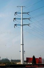 132kv Polygonal Octongal Electric Pole for Transmission pictures & photos