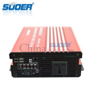Suoer 1500W 24V 230V Intelligent Pure Sine Wave Power Inverte (FPC-H1500B) pictures & photos