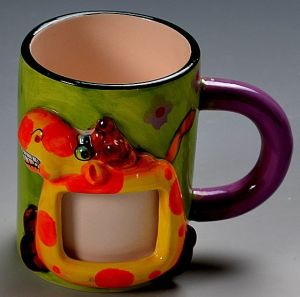 Wholesale Funny Design Cartoon 3D Painted Ceramica Mug for Children′s Gift pictures & photos