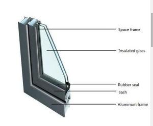P Strip Rubber Glass Door Seal pictures & photos