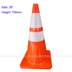 450mm with or Without Reflector PVC Traffic Road Cone pictures & photos