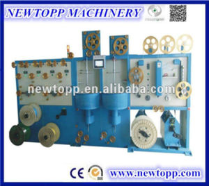 Vertical-Type Single/Double Layer Cable Wrapping Machine pictures & photos