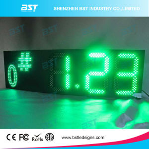 Green Color Outdoor Waterproof Gas Price LED Display pictures & photos