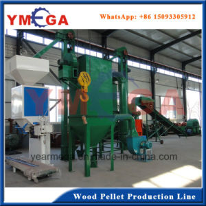 Whole Pelletizing Production Line Wood Pellet Mill Machinery for Fuel to Burn pictures & photos