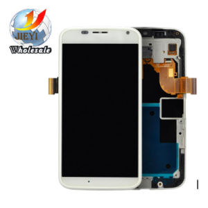 White Touch Screen Digitizer LCD with Frame for Motorola Moto X Xt1052 Xt1053 pictures & photos