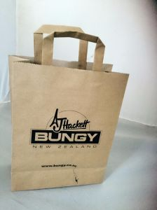 Plain Kraft Paper Shopping Bag (GJ-Bag498) pictures & photos