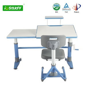 Relaxing Ergonomic Height Adjustable Children Table Baby Furniture pictures & photos