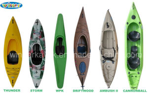 Professional Winner Sit in Kayak pictures & photos