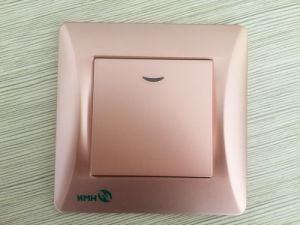 Hermano High Quality Switch Socket Supplier Double Tel Socket Data pictures & photos