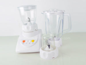 Best Quality 1.5L Thicker Jar 4 Speeds 2 in 1 Electric Food Blender Machine pictures & photos