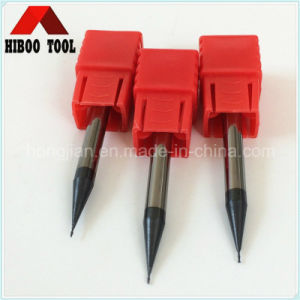High Presicion HRC55 Good Quality Micro End Mill with 2flutes pictures & photos