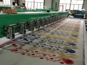 Good Price Embroidery Machine for Leather/Blanket/Cloth pictures & photos