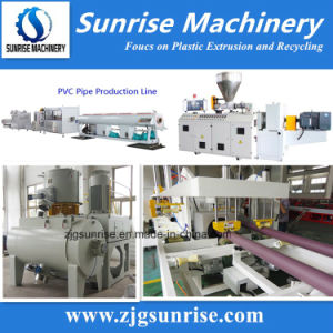 Plastic Pipe Machinery PVC Water Pipe Making Machine pictures & photos