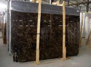 Chinese Dark Emperador Marble Slab for Flooring/Wall Tile pictures & photos