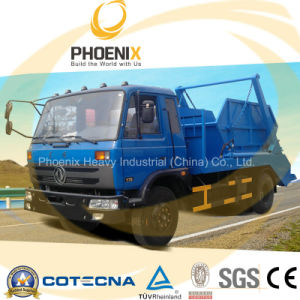 Professional Supplier Dongfeng 10cbm 4X2 Swing Arm Garbage Truck pictures & photos