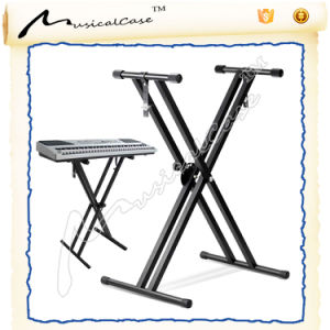 Musicalcase Product Foldable Keyboard Stand pictures & photos