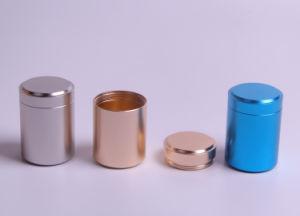 Tea Tin Canister, Titanium Alloy Metal Box pictures & photos