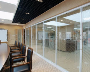 Modular Customized Half Glass Used Office Wall Partitions (SZ-WS567) pictures & photos