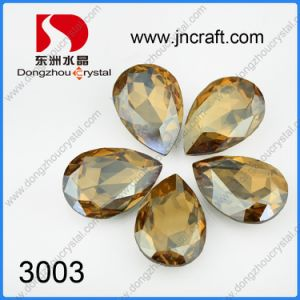 Clear Fashion Jewelry Accessories Loose Crystal Beads (DZ-3003) pictures & photos