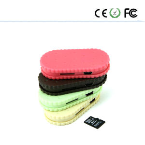 Mini Cookies MP3 Music Player Support 1-8g TF Card Clip pictures & photos