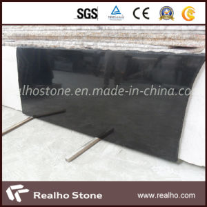 Top Quality Mongolia Black Granite Slab for Sale pictures & photos