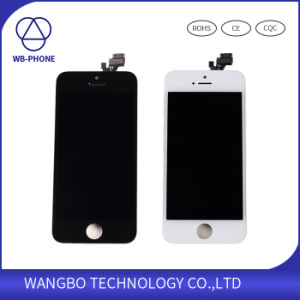 Wholesale AAA Quality LCD Screen for iPhone 5 Original LCD pictures & photos
