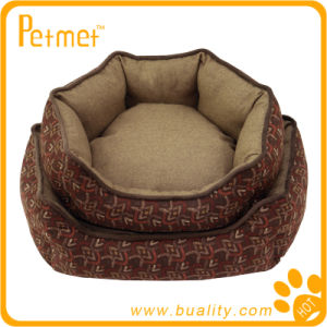 Oblong Dog Bed with Zipped Removable Pillow (PT38510)