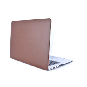 Elegant Leather Finished PC Shell Cover for MacBook (LC-CS115) pictures & photos