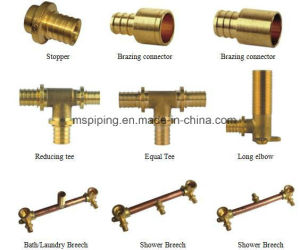 Brass Pex Fitting / Sliding Fitting for Pex Pipe pictures & photos