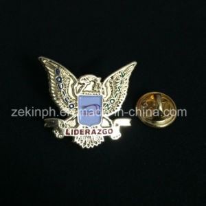 Customized Metal Pins with Gold Plating pictures & photos