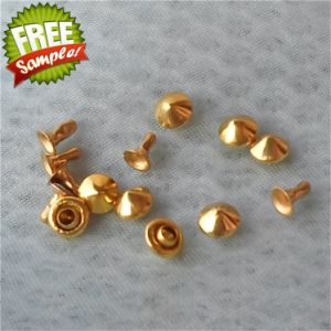 5X3.3mm Wholesale High Quality Conical Copper Rivet pictures & photos