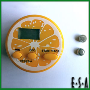 2015 Cute Design Basic Kitchen Timer, Mini Kitchen with Timer for Kitchen, Kitchen Timer Round Shape Digital Calculagraph G20b106 pictures & photos