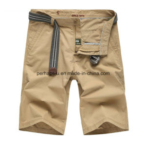 High Quality Cotton Mens Casual Pants Short Beach Pants pictures & photos