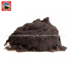 Combing /Carded Brown Yak Wool/Cashmere Fabric/Textile/ Wasted Raw Material pictures & photos