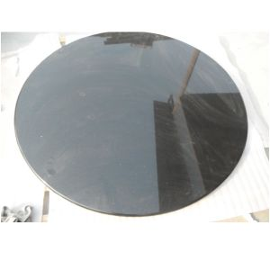 High Quality Black Round Granite Table Top pictures & photos